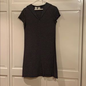 DKNY, cotton, stripe, sailor dress, size S.